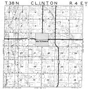 Clinton Township, Waterman, DeKalb County 1947